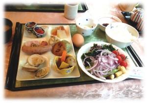 マイユクール朝食