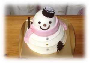 銀のぶどうケーキ