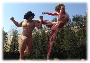 エレン&女型の巨人