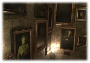 肖像画の部屋