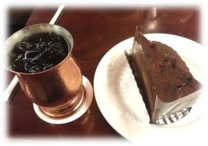 ケーキセットエクセルチョコレート
