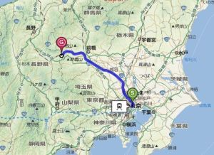 map軽井沢