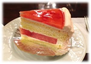 スイカショートケーキ