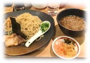 龍の家つけ麺1
