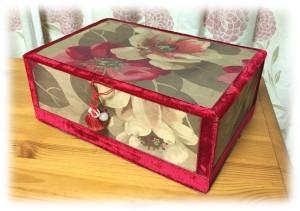 赤糸刺繍のメルスリー1