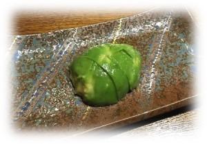 アボガドの西京味噌漬