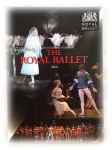 ロイヤル・バレエ団プログラム2016年