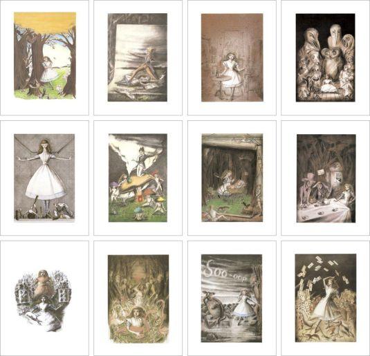 Aliceポストカード12